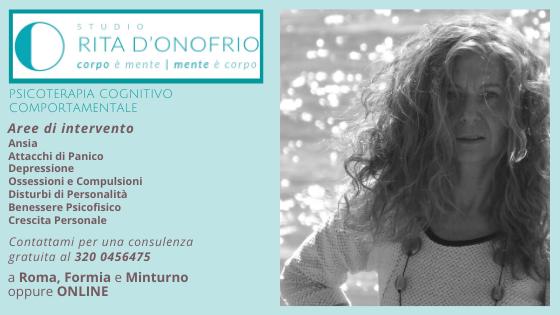 biglietto da visita Rita D'Onofrio